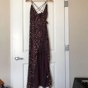 NWOT High low lace House of Harlow Dress